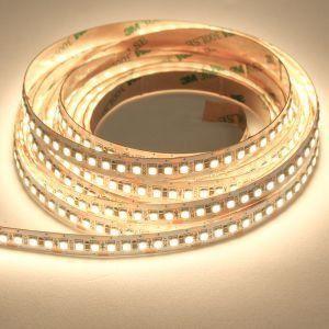 Fita LED 3528 Branco Neutro 4000k Siliconada Prova D'água 5 Metros + Fonte