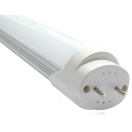 Kit 10 Lâmpadas Tubular 18W LED Bivolt Branco Frio 6000k