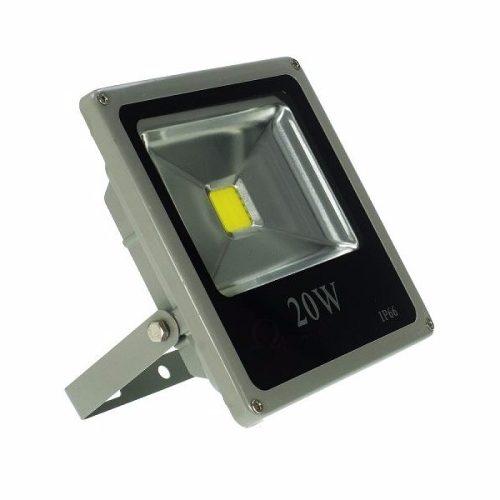 Refletor Holofote LED 20W IP66 A prova D'Água Branco Frio 6000k