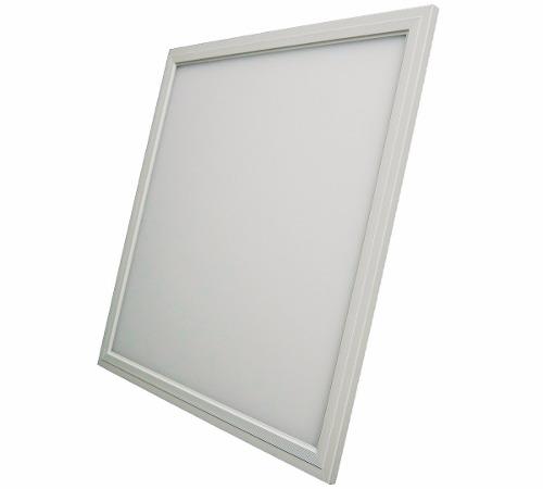 Plafon LED Luminária Quadrado Embutir 36w 40x40 Branco Frio 6000k