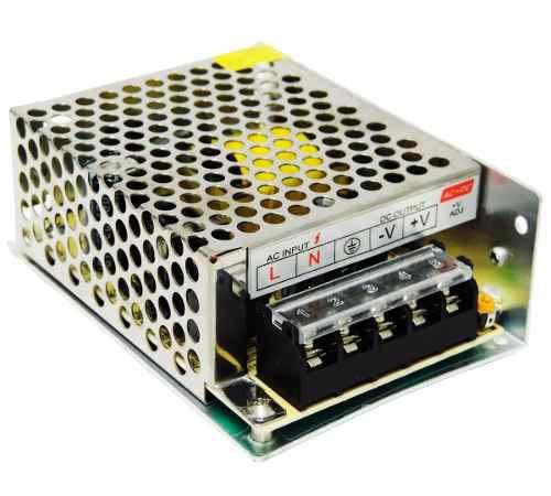 Fonte Chaveada 5a 12v 60W Bivolt CFTV Fita LED Som Automotivo