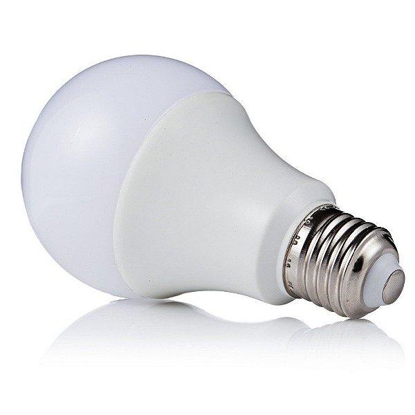 Kit 10 Lâmpadas Super LED 7W Bulbo Bivolt Branco Frio 6000k