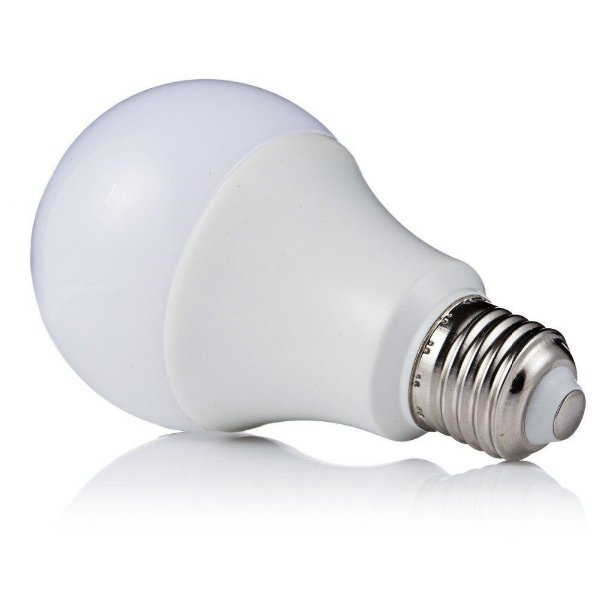 Lâmpada 9W Super LED Bulbo Bivolt Branco Frio 6000k