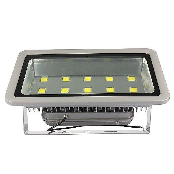 Refletor Holofote LED COB 500W IP66 A prova D'Água Branco Frio 6000k