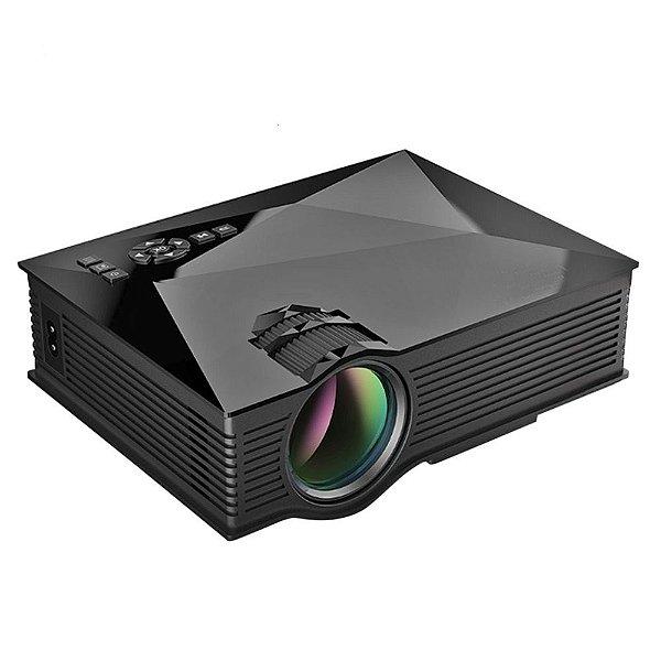 Mini Projetor LED Portatíl Wifi - HDMI - Profissional - Miracast