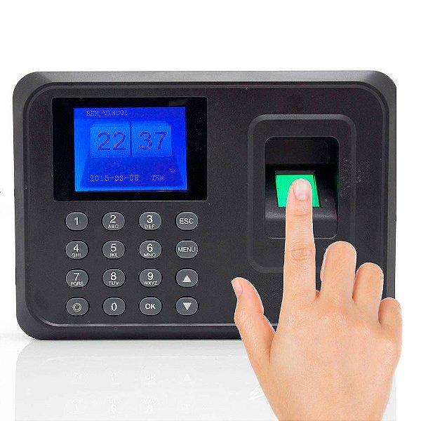 Relógio De Ponto Biométrico Impressão Digital