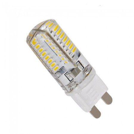 Lâmpada 3W LED Halopin G9 Lustres E Pendentes Bivolt Branco Frio 6500k