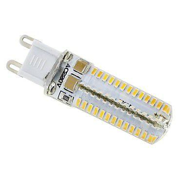 Lâmpada 5W LED Halopin G9 Lustres E Pendentes Bivolt Branco Quente 3000K