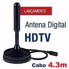 Antena Tv Conversor Digital Hdtv Interna Externa Cabo