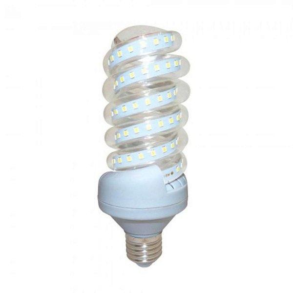 Lâmpada De Milho Espiral 20W LED Bivolt Branco Frio 6000k