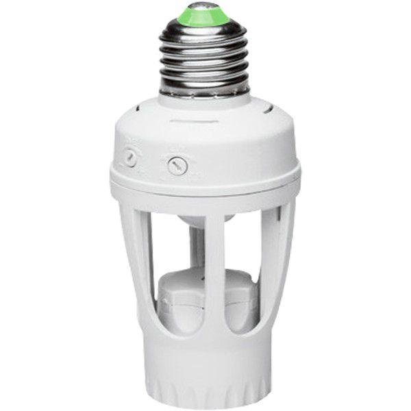 Sensor De Presença Com Fotocélula Para Lâmpada Timer Soquete E27