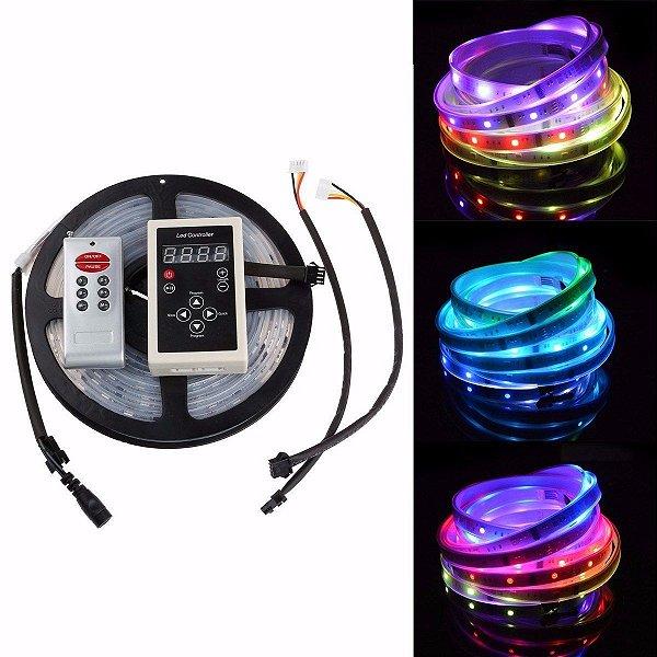 Fita LED 6803 Digital RGB 133 Efeitos Endereçavel Prova D´Agua