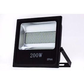 Refletor Holofote LED 200W SMD IP66 A prova D'Água Branco Frio 6000k