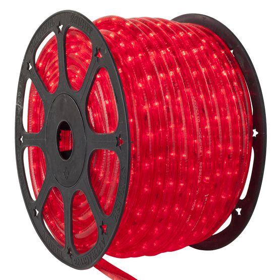 Mangueira LED 100 metros 110v Vermelho Ultra Intensidade - A prova dágua