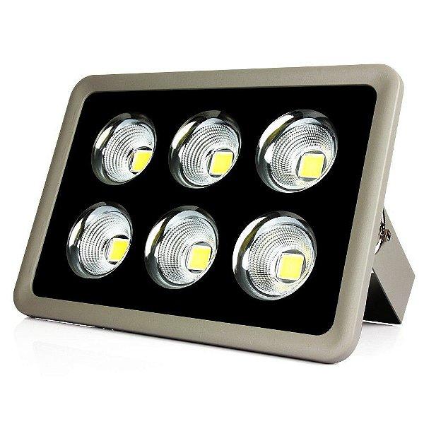 Refletor Holofote LED 300W Cob Branco Frio - Multifocal