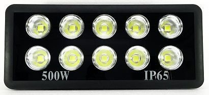 Refletor Holofote LED 500W A Prova d´Água Cob Branco Frio - Multifocal
