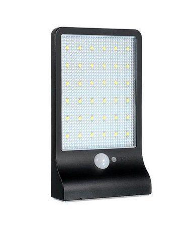 Luminária Pública Solar 20W LED Completa Ip66 Branco Frio 6000k