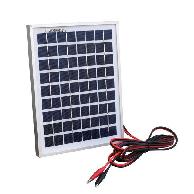 Painel Placa Solar 20W Célula Energia Fotovoltaica