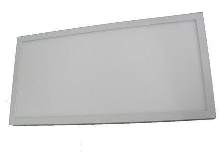 Luminária Plafon LED 36W 30x60 Quadrado De Sobrepor Branco Quente 3000k