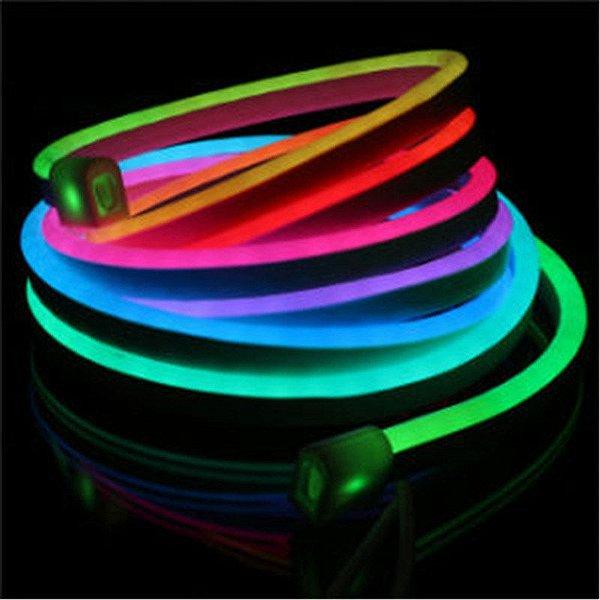 Fita LED 220v 100 Metros Mangueira Flexivel Neon RGB Multicolorido