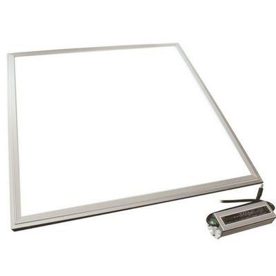 Luminária Plafon LED 48W 62x62 Quadrado Embutir Branco Quente 3000k