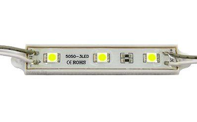 Módulo de LED 5050 SMD 3 LEDs Branco Quente 3000k