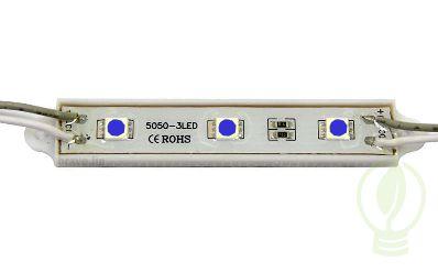 Módulo de LED 5050 SMD 3 LEDs Azul