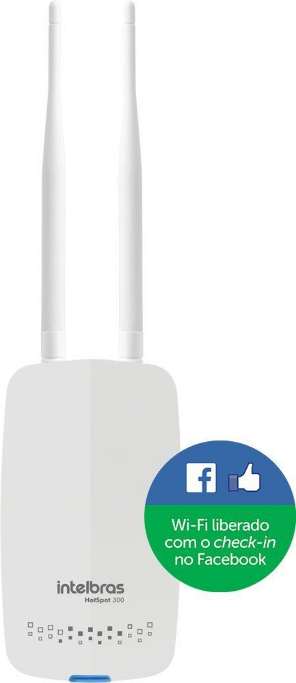 Roteador Intelbrás Wireless Corporativo Hotspot 300