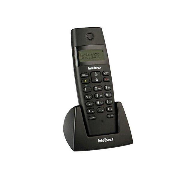 Telefone sem fio digital com ramal adicional Intelbrás