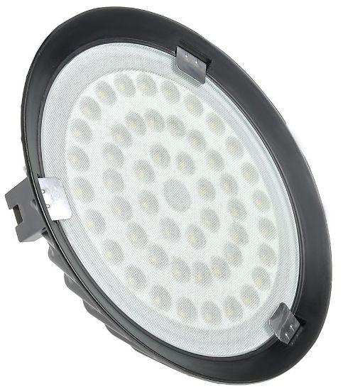 Luminária High Bay 100W LED UFO Industrial Branco Frio 6000k