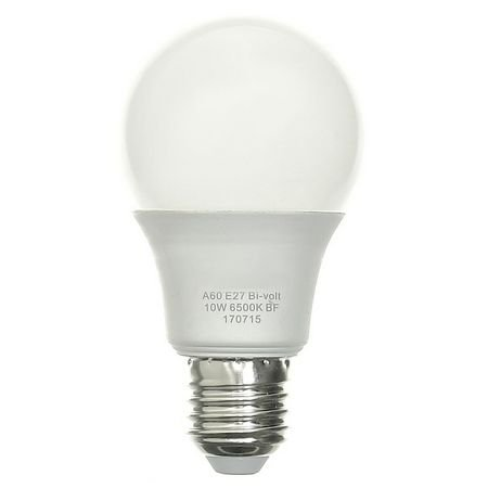 Lâmpada 10W Super LED Bulbo Bivolt Branco Quente 3000k