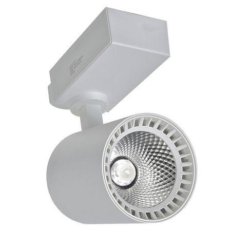 Spot 18W LED Branco para Trilho Eletrificado Branco Quente 3000k