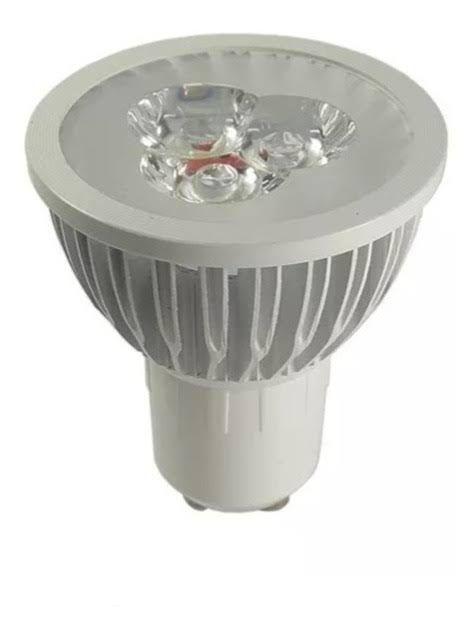 Lâmpada Dicroica 3W LED GU10 Branco Quente 3000K
