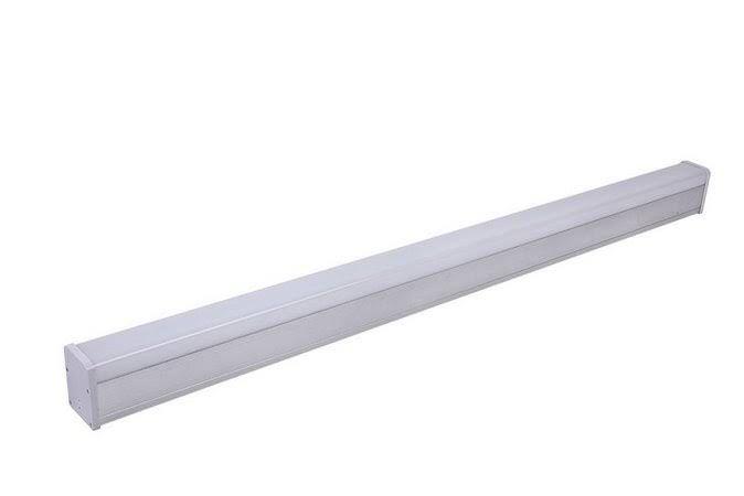 Luminária LED Perfil 48W 150cm Linear Retangular de Sobrepor