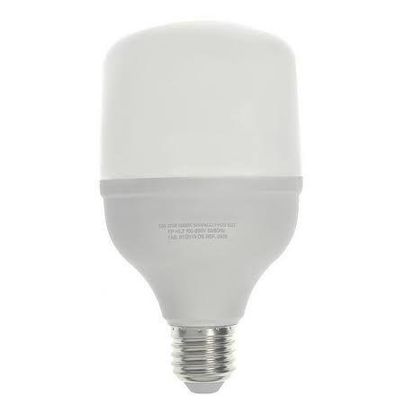 Lâmpada 20W LED Bulbo Alta Potencia Branco Frio 6000k