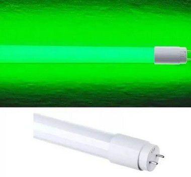 Lâmpada 10W 60cm LED Tubular T8  - Verde