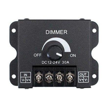 Controlador Ajustável 30A para Fita Dimmer LED 1 Cor