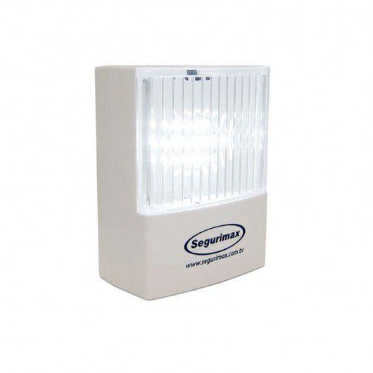 Luminária de Emergência LED 50 Lúmens   Plug Retrátil