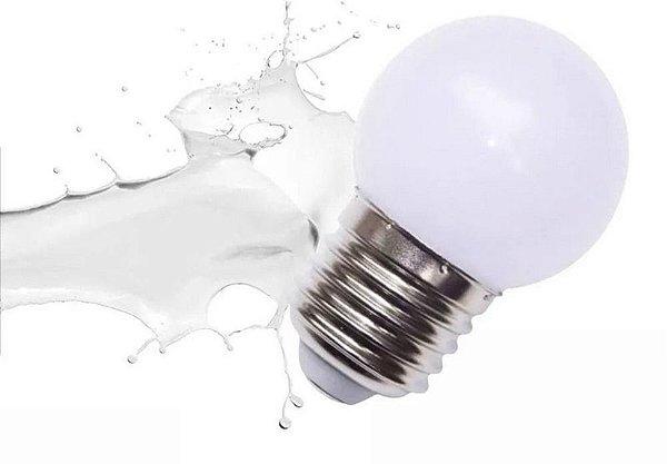 Lâmpada 1W LED Bolinha Branca