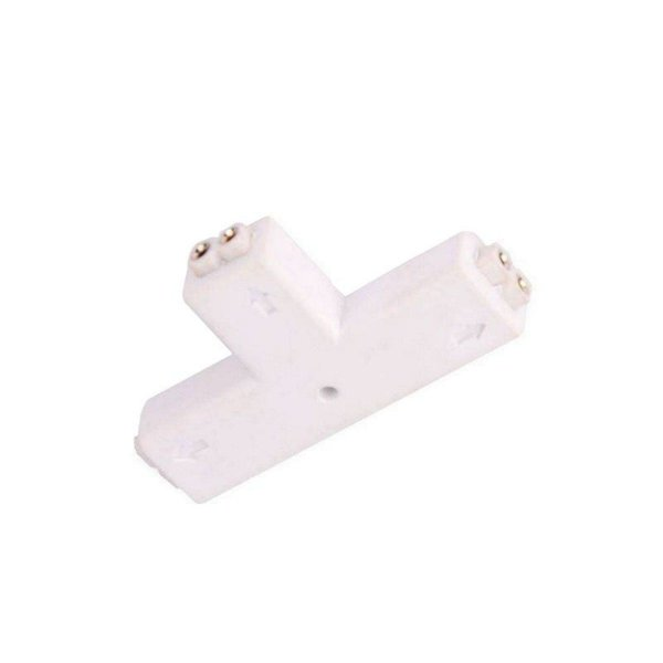 Conector T 2 Pinos Para Fita LED 3528 1 Cor 8mm