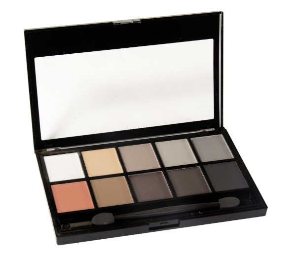 paleta de sombras matte 10 cores Fenzza Make Up