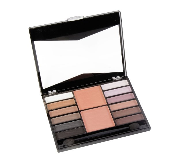 PALETA DE SOMBRAS E BLUSH FENZZA MAKE UP- C1