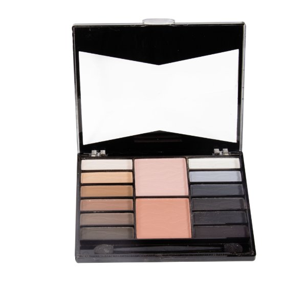 paleta de sombras e blush Fenzza Make Up - C2