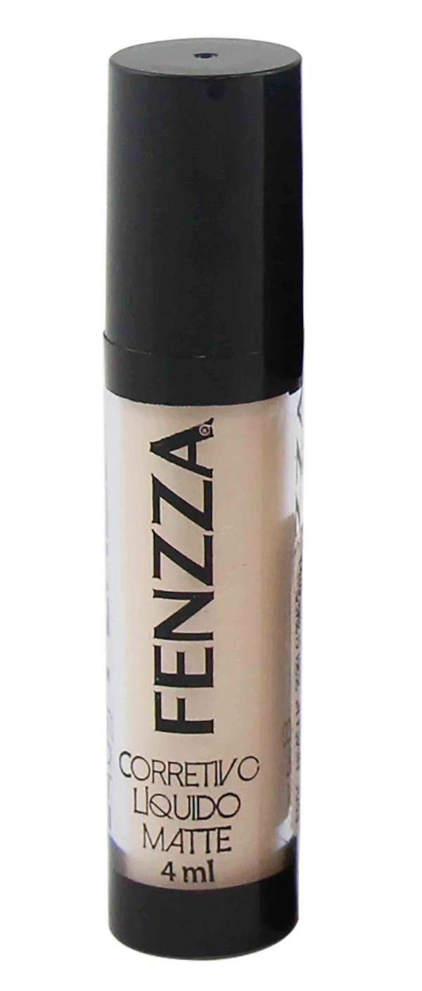 corretivo líquido matte Fenzza Make Up - c1 nude