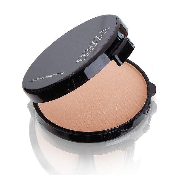 pó compacto prático Fenzza Make Up - c1
