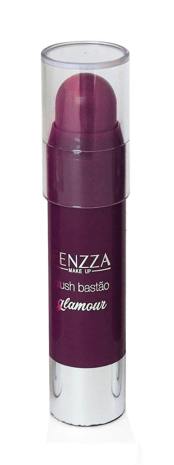 blush bastão glamour Fenzza Make Up - c6