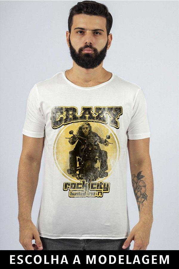 Camiseta Branca Crazy AS