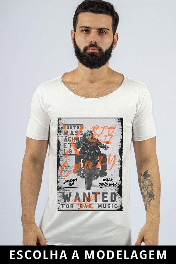 Camiseta Branca Walk This Way