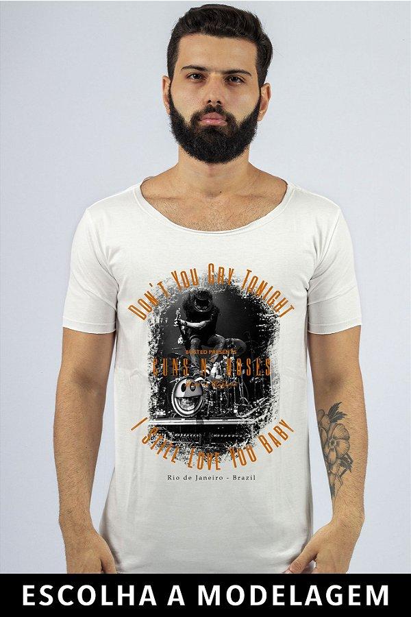 Camiseta Branca Don't You Cry