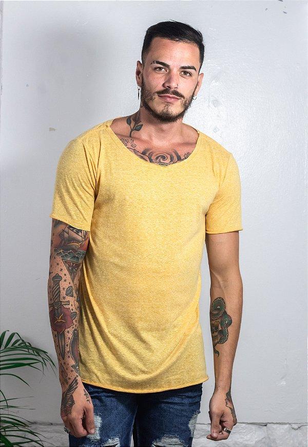 Camiseta Canoa Nature Amarela